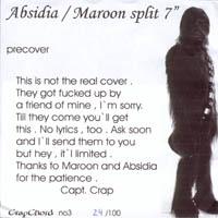 Absidia/Maroon - Split
