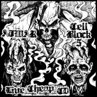 At War / Cell Block 5  - Live Cheap CD-Split