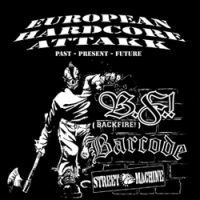 European Hardcore Attakk - 3 Way Split