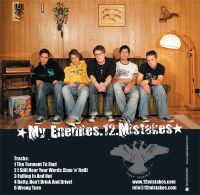 My Enemies 12 Mistakes / Tomorrow Never Knows - Fight Yourself Split EP