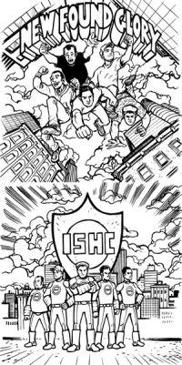 New Found Glory - Tip of the Iceberg / International Superheroes of Hardcore - Takin' It Ova!