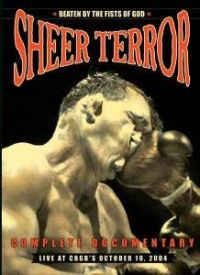 Sheer Terror - Beaten by the Fists of God - DVD