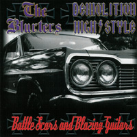 The Blurters & Demolition High Style - Battle Scars And Blazing Guitars