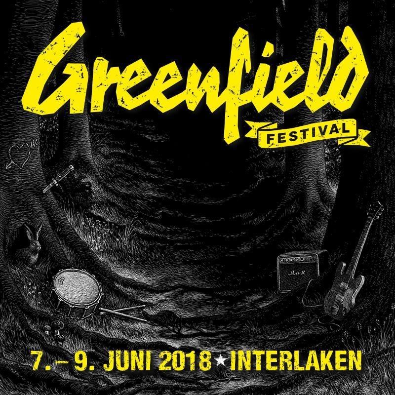 Greenfield Festival 2018 Logo