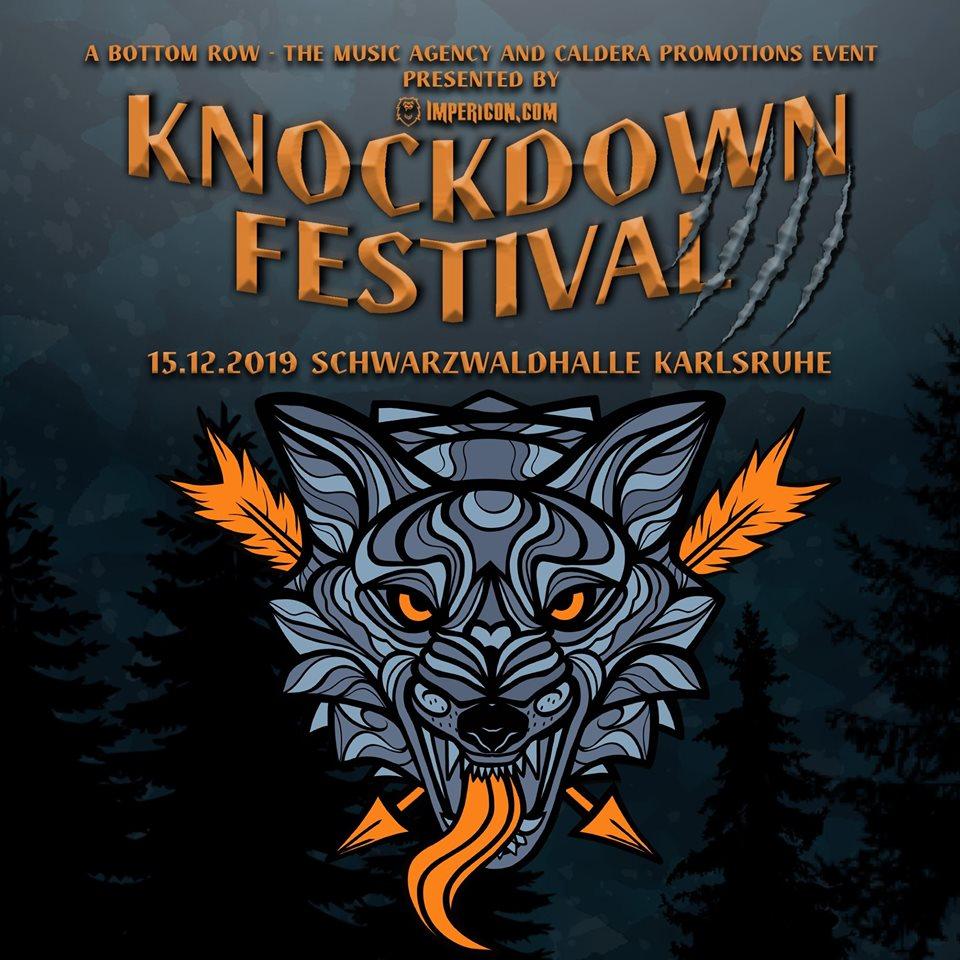 KNOCKDOWN FESTIVAL 2019 Logo