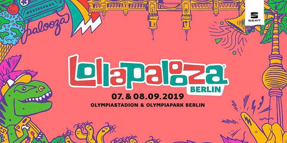 Lollapalooza Berlin 2019 Logo