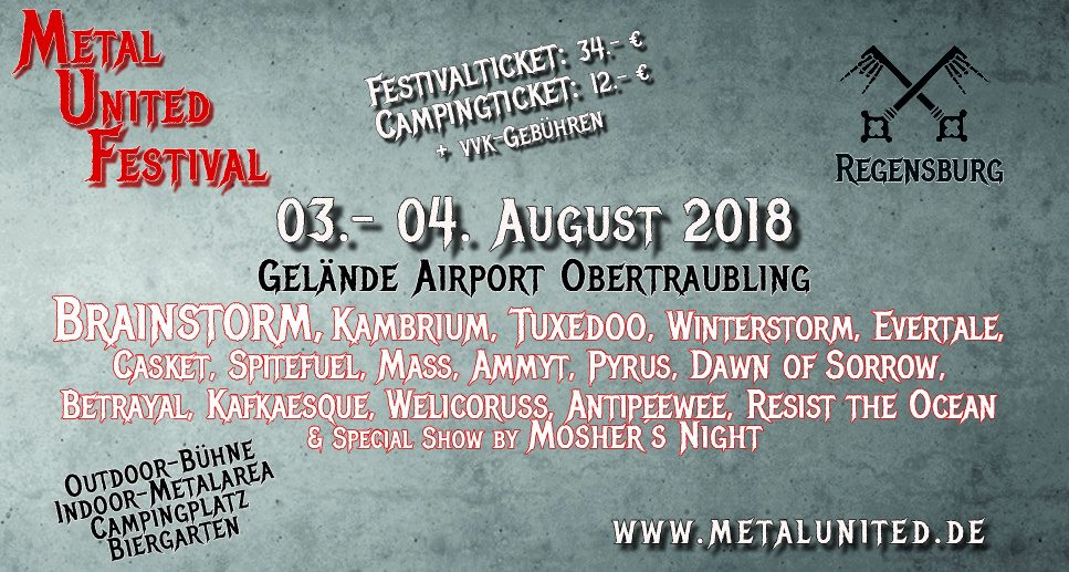 METAL UNITED FESTIVAL 2018