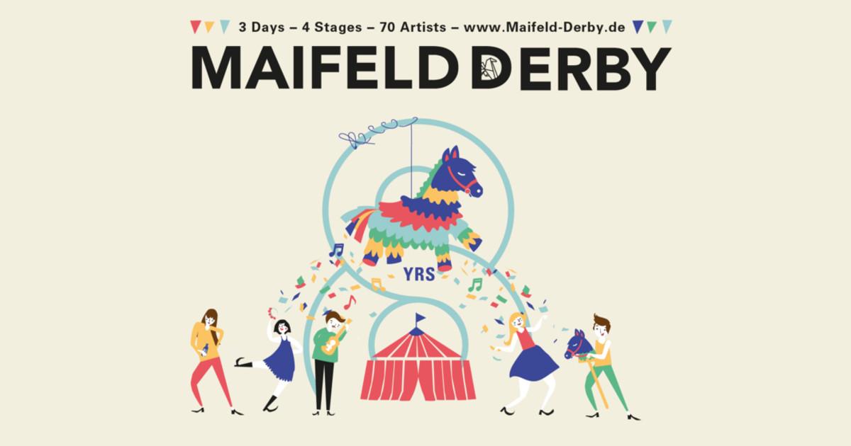 Maifeld Derby 2018 Logo