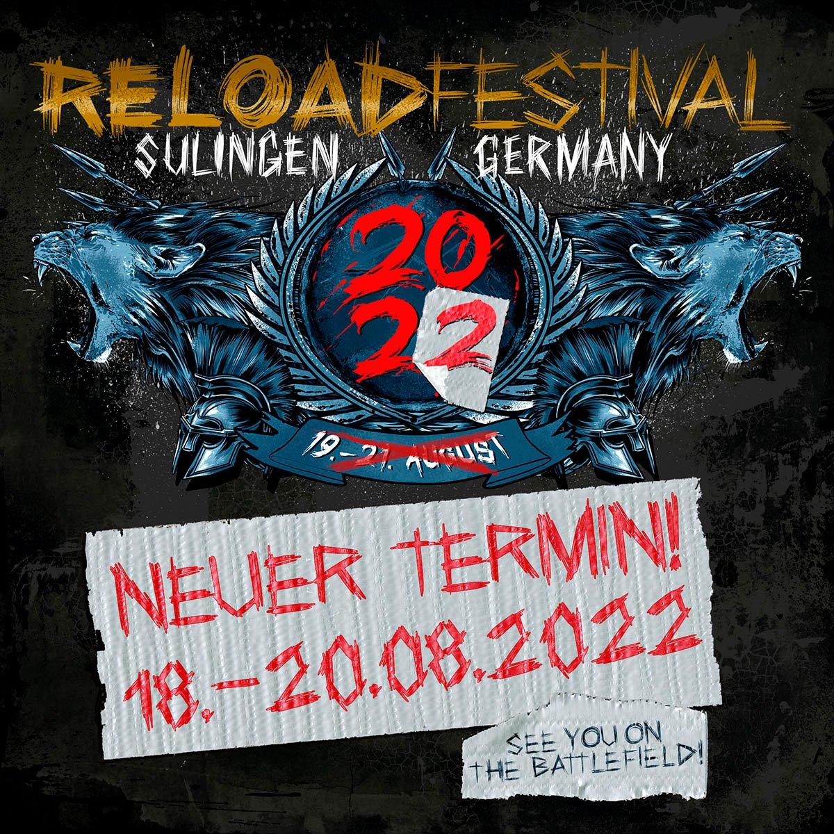 Reload Festival 2022 Logo