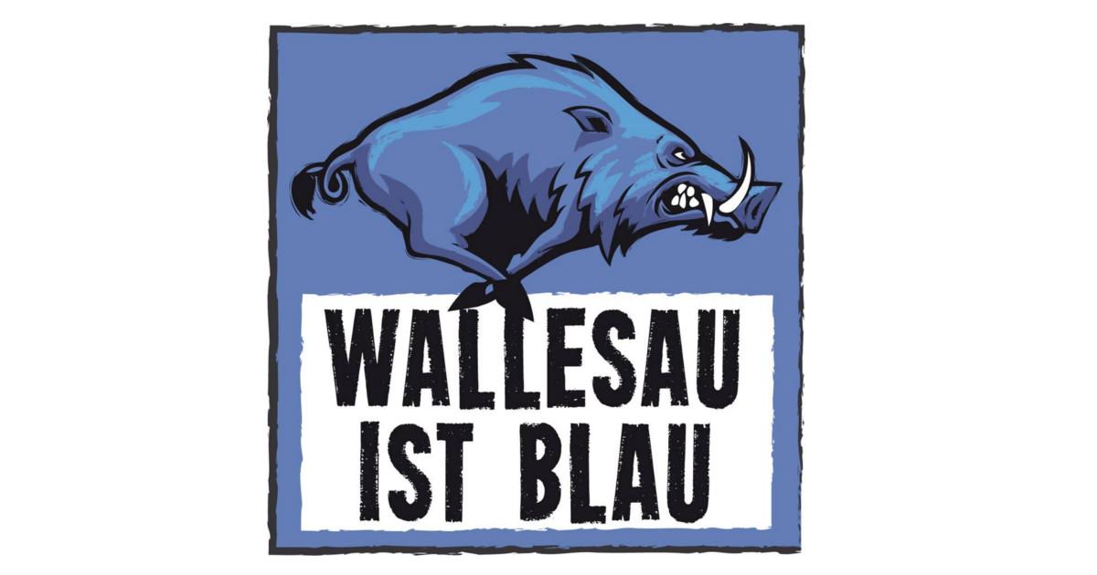 WALLESAU IST BLAU 2018 Logo