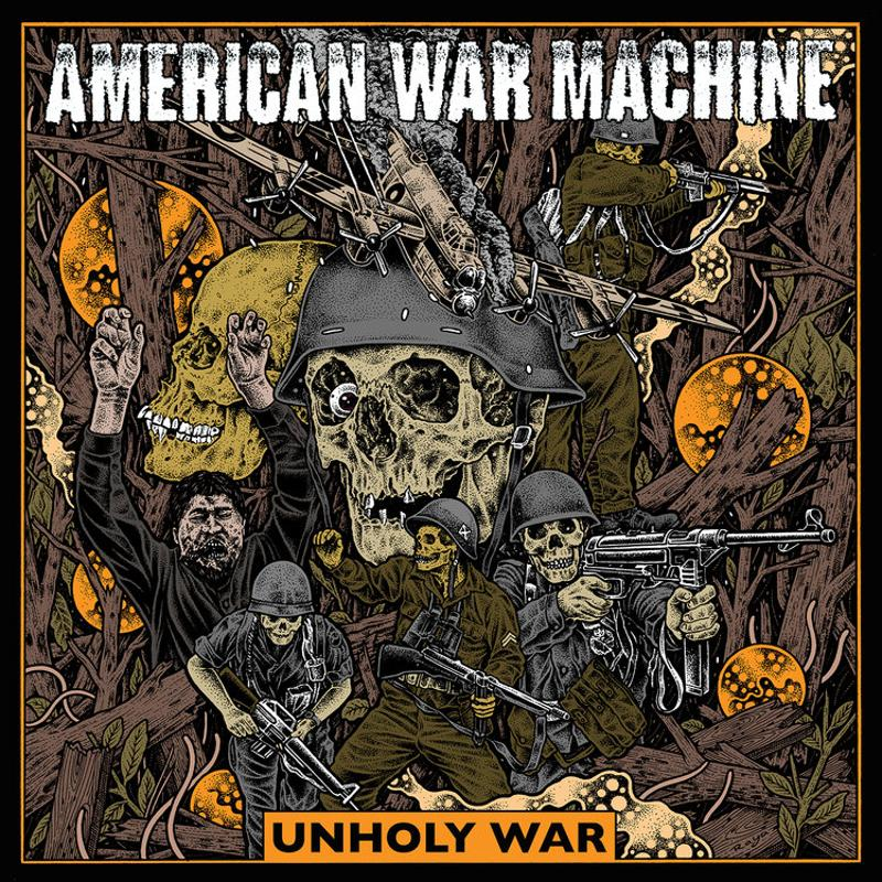 American War Machine - Unholy War Cover