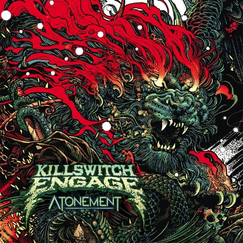 Killswith Engage - Atonement Cover