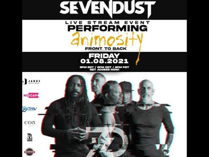 Photo zu 08.01.2021: SEVENDUST - Animosity - Stream