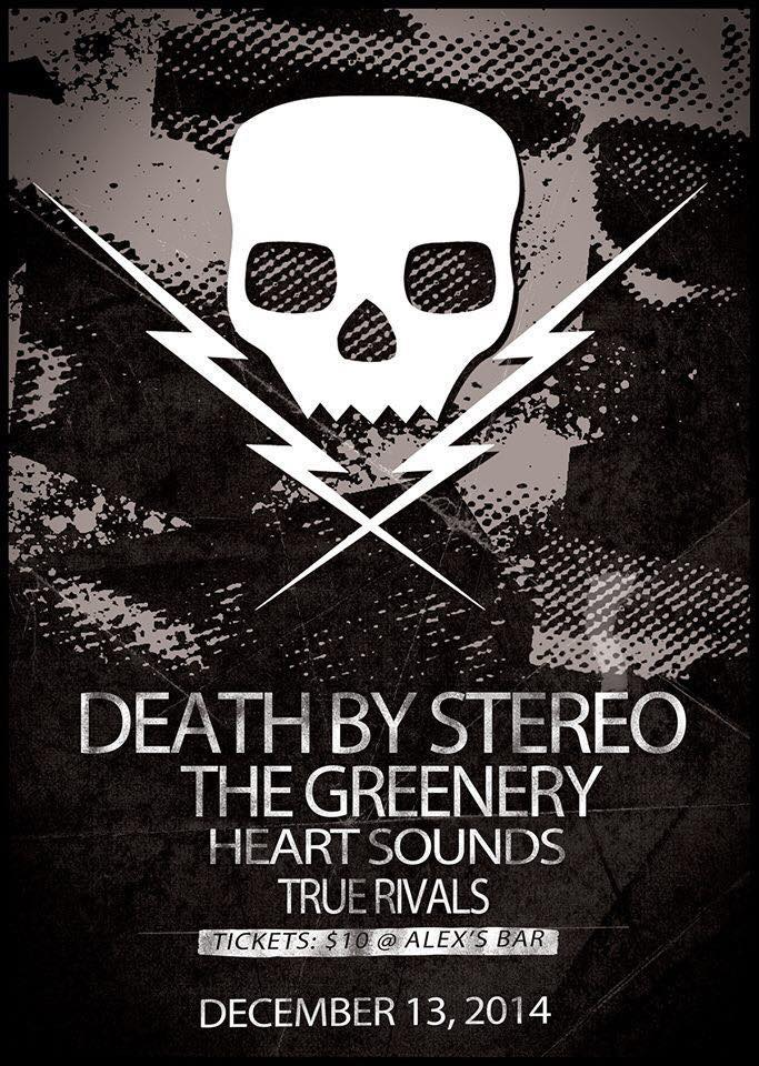Photo zu 13.12.2014: Death By Stereo, The Greenery, Heartsounds, True Rivals (ex-The Revenant) - Alex's Bar - Long Beach, CA