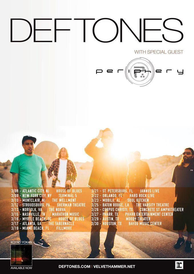 Photo zu 30.03.2013: Deftones, Periphery - Bayou Music Place - Houston, TX