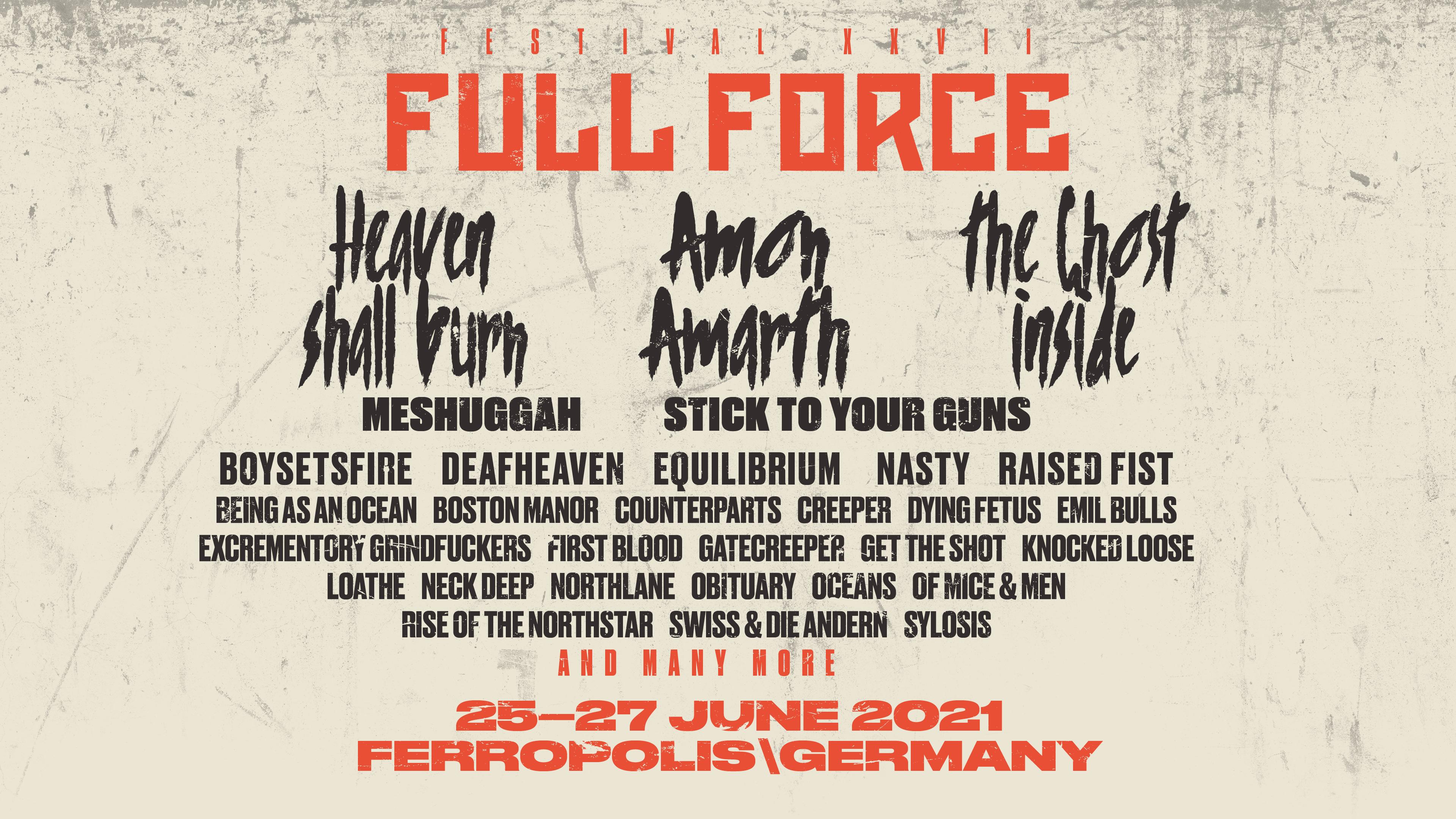 Full Force 2021