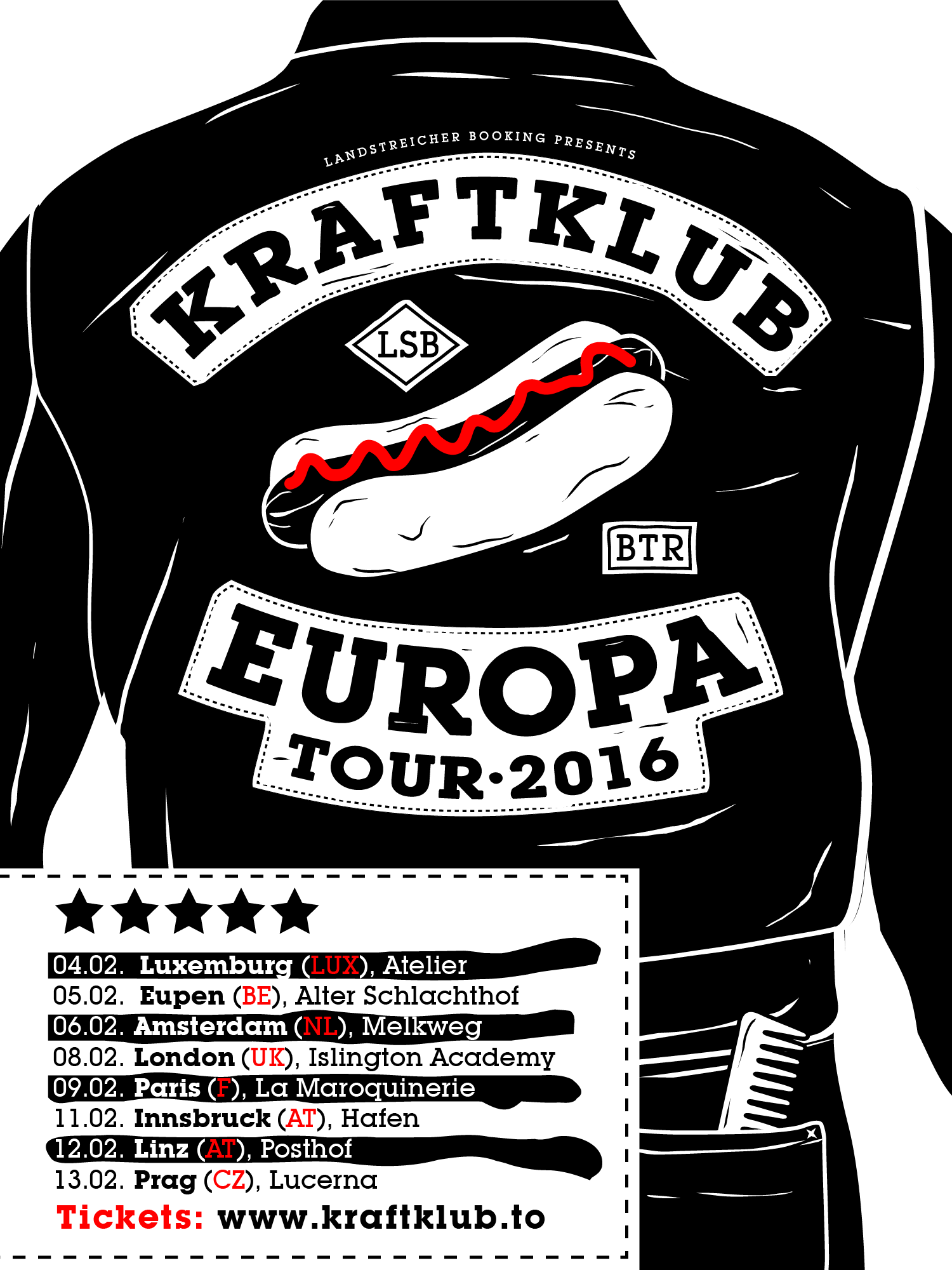 Kraftklub Tour 2016 Dates