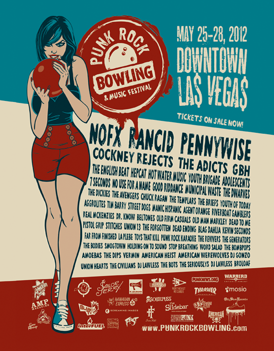Photo zu 25. - 28. Mai 2012: Punk Rock Bowling - Downtown Las Vegas, Nevada - USA