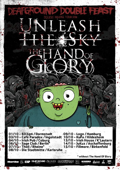Photo zu 08.10.2011: The Hand Of Glory, Unleash The Sky, The Fracture, Rimshot, Palm Valley - Karlsruhe - Stadtmitte