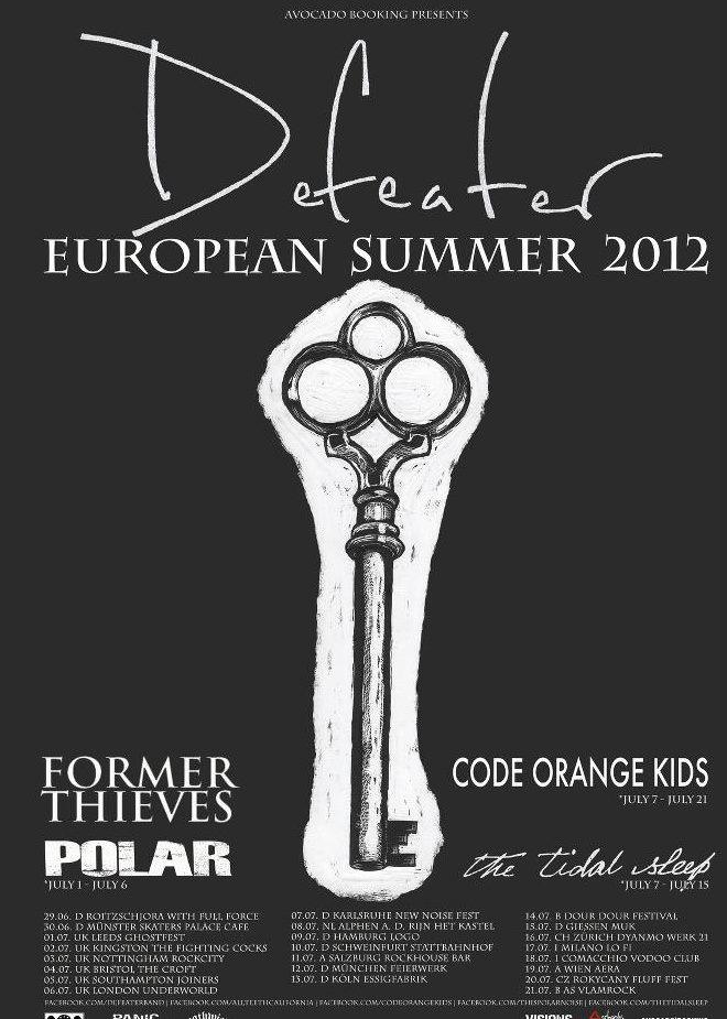Photo zu 15.07.2012: Defeater, Former Thieves, Code Orange Kids, The Tidal Sleep - MuK, Gießen