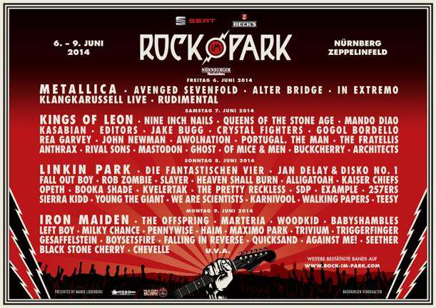 Photo zu 08.06.2014: Rock Im Park - Nürnberg - Zeppelinfeld
