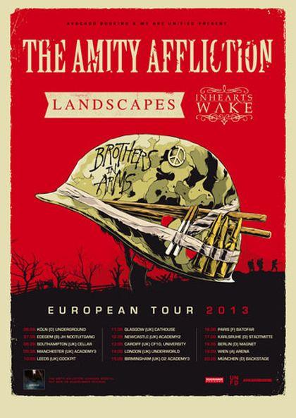 Photo zu 06.09.2013: The Amity Affliction, Landscapes, In Hearts Wake, Maria Hill - Undergrond, Köln