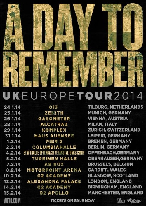 Photo zu 04.02.2014: A Day To Remember, Every Time I Die, The Story So Far - Offenbach - Stadthalle