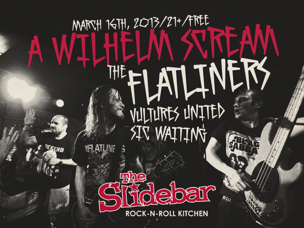 Photo zu 16.03.2013: A Wilhelm Scream, The Flatliners, Vultures United, Sic Waiting, Lowbrow - Slidebar - Fullerton, CA