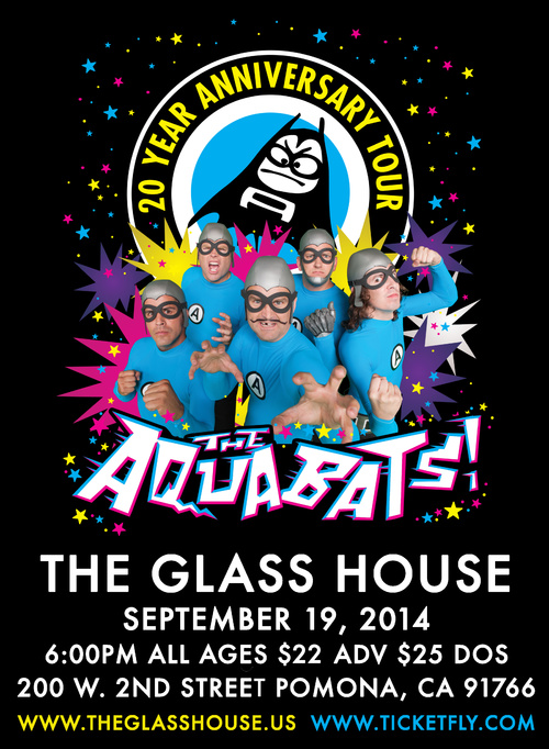 Photo zu 19.09.2014: The Aquabats, Emily's Army - The Glass House - Pomona, CA