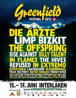 Photo zu 15.06.-17.06.2012: Greenfield Festival - Interlaken (CH)
