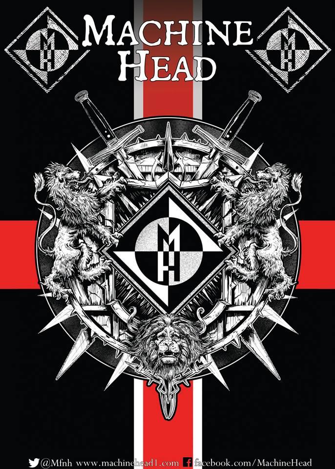 Photo zu 22.11.2014: Machine Head, Darkest Hour - Kesselhaus - München
