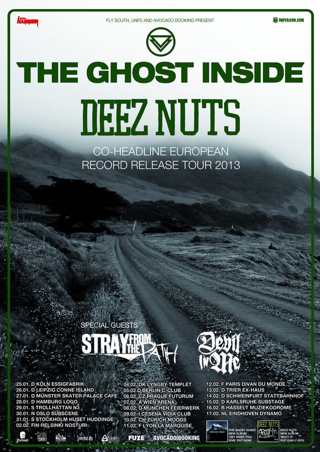 Photo zu 15.02.2013: The Ghost Inside, Deez Nuts, Stray From The Path - Karlsruhe - Substage