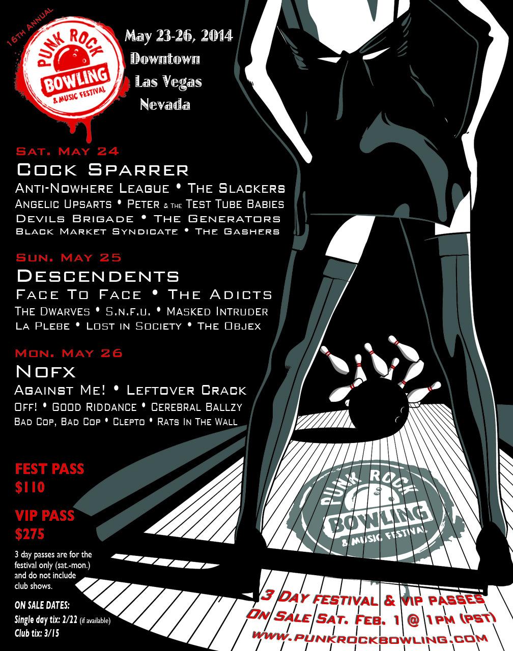 Photo zu 23. - 26.05.2014: Punk Rock Bowling - Downtown Las Vegas, NV