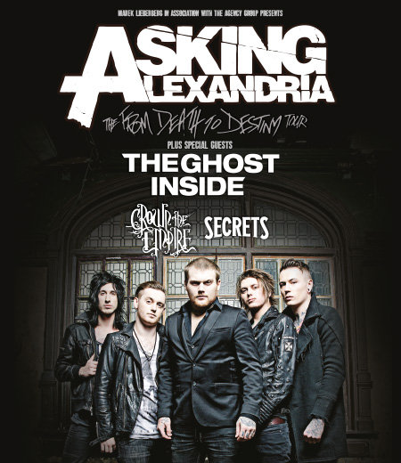 Photo zu 18.10.2014: Asking Alexandria, The Ghost Inside, Crown The Empire, Secrets - Köln - E-Werk