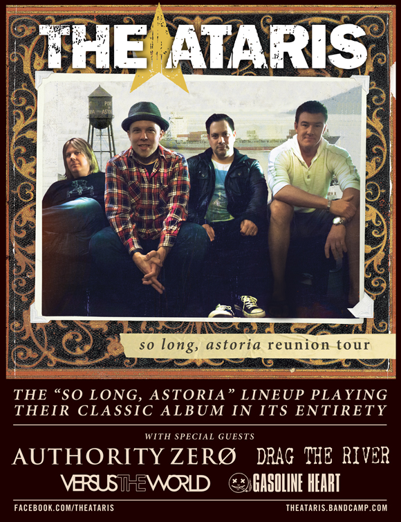 Photo zu 06.03.2014: The Ataris, Authority Zero, Drag The River, Versus The World - House of Blues - Anaheim, CA