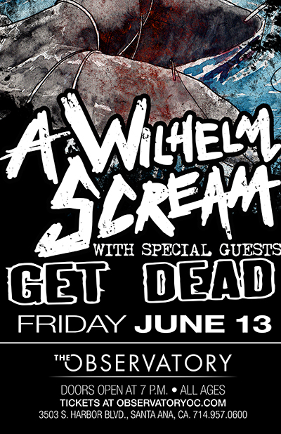 Photo zu 13.06.2014: A Wilhelm Scream, Get Dead, The Revenant - Constellation Room - Santa Ana, CA