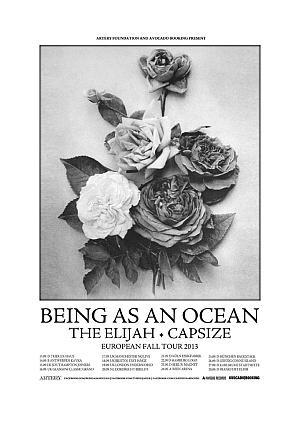 Photo zu 27.09.2013: Being As An Ocean, The Elijah, Capsize - Karlsruhe  - Die Stadtmitte