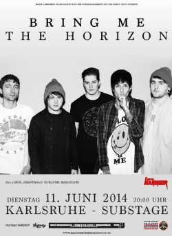 Photo zu 11.06.2014: Bring Me The Horizon, Vitja - Karlsruhe - Substage