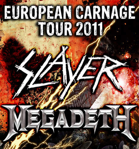 Photo zu 24.03.2011: Megadeth, The Sorrow, Slayer - Stechert Arena - Bamberg