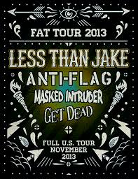 Photo zu 30.11.2013: Less Than Jake, Anti-Flag, Masked Intruder, Get Dead - The Fonda - Hollywood, CA