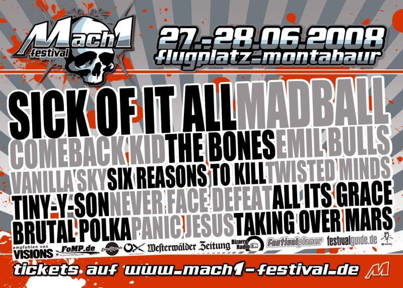 Photo zu 27.06.-28.06.2008: Mach1 Festival 2008 - Montabaur