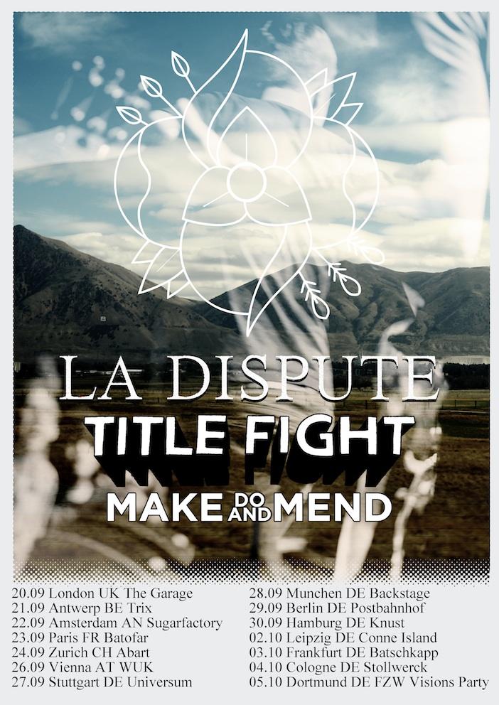 Photo zu 03.10.2012: La Dispute, Title Fight, Make Do And Mend, Into It Over It - Batschkapp, Frankfurt