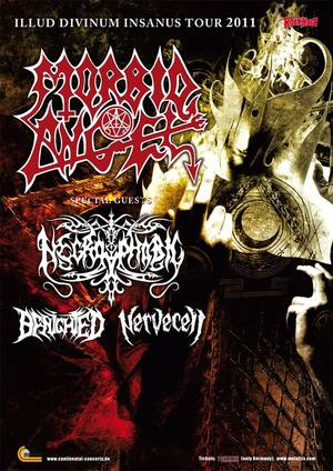 Photo zu 14.12.2011: Morbid Angel, Necrophobic, Benighted, Nervecell - Bochum - Matrix