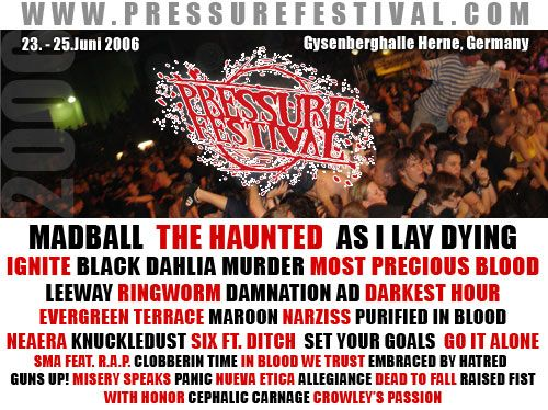 Photo zu 23.06.-25.06.2006: Pressure Festival - Pressure Festival 5: Vorbericht