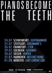 Photo zu 31.07.2012: Pianos Become The Teeth, Blame It On The Ocean - Bei Chez Heinz, Hannover