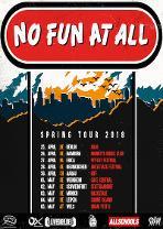 ALLSCHOOLS PRESENTS: NO FUN AT ALL - im Frühjahr auf Europatour