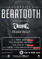 BEARTOOTH - The Aggressive Tour