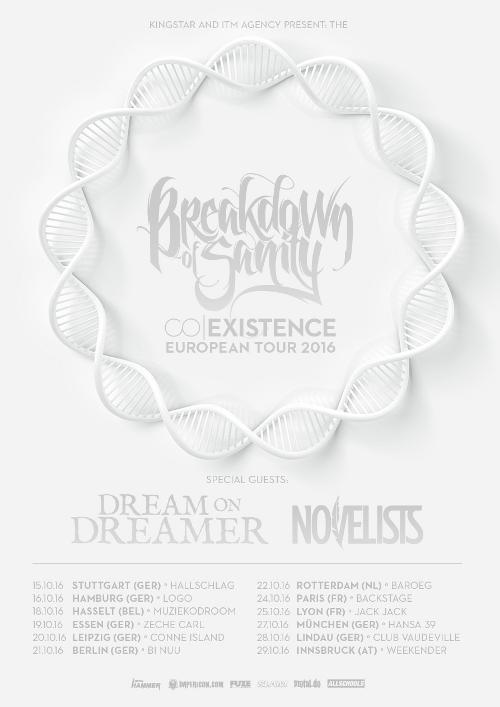 BREAKDOWN OF SANITY - Coexistence Euopean Tour