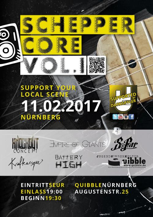 SCHEPPERCORE Vol. I - Support Your Local Scene Nürnberg