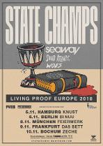 """STATE CHAMPS - """"Living Proof Europe 2018""""-Tour"""